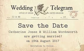 Save The Date Cards Cupid Telegram Save The Date Cards U2013 Josephine And Daughters