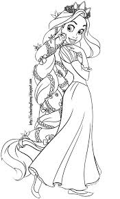 Disney Coloring Pages Tangled Coloring Pages Of Rapunzel Coloring Pages Tangled