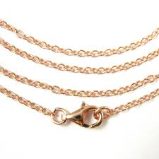 rose gold silver necklace images Rose gold necklace gold plated vermeil sterling silver necklace jpeg