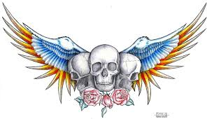 skulls and roses flash by goranfurjan on deviantart