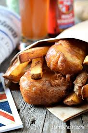 Cape Cod Russet Potato Chips - english style fish and chips a family feast