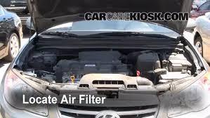 hyundai elantra air filter air filter how to 2007 2012 hyundai elantra 2010 hyundai