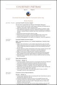 insurance agent sample resume vinodomia insurance agent resume