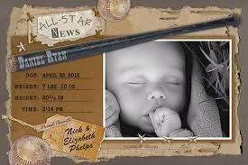 baby announcements photo birth announcements for boys