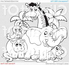 baby zoo animals coloring pages zoo animals coloring pages