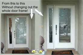 Replacing An Exterior Door Front Door Frame Replacement Exterior Door Jamb Repair