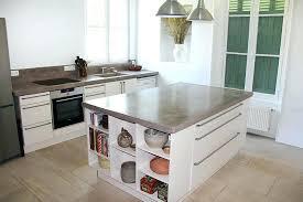 cuisine projet beton cire cuisine pour credence solutions reviews mur lolabanet com