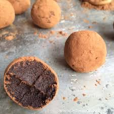 2 ingredient raw chocolate truffles