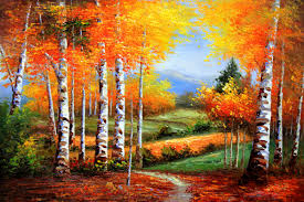 can we guess your favorite fall color from the paintings you