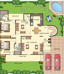 Bungalow Round Floor Plan Interior by Best 25 Indian House Plans Ideas On Pinterest Indian House