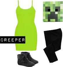 Minecraft Creeper Halloween Costume 232 Creeper Coverrrr Images