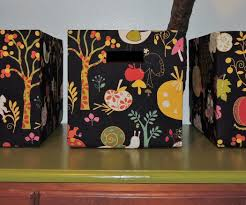 Decorative Cardboard Storage Boxes Home Organization Diy Fabric Storage Boxes 5 Steps With Pictures