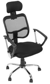Computer Chair by Chair V001 Black Sleek Economy High Back Office Height Adjustable