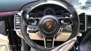 Porsche Cayenne Manual Transmission - 2015 porsche cayenne turbo s facelift 2015 detroit auto show