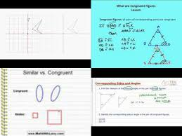 Similar And Congruent Figures Worksheet 8 G 2 Classroom Assessments Homework Lesson Plans