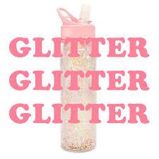 ban do glitter bomb water bottle the paper parlour