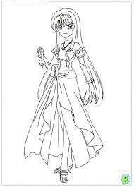 mermaid melody coloring page dinokids org