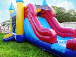 bouncy house rentals castle bounce house combo