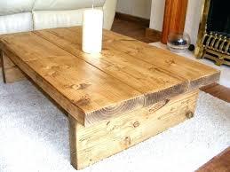 rustic solid wood coffee table rustic wood living room tables gusciduovo com