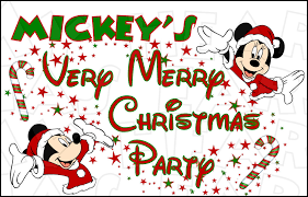 mickey u0027s merry christmas party instant download digital clip