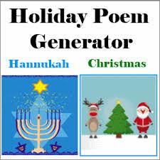holiday poem generator k 5 computer lab