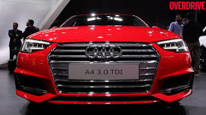 audi auto 2016 auto expo 2016 audi a4 revealed to indian audience