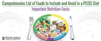 pcos diet list of foods to eat and avoid in a pcos diet plan