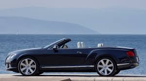 bentley dark green 2012 bentley continental gtc dark sapphire side hd wallpaper 5