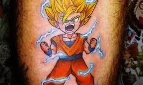 dragon ball z tattoos tattoo com