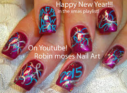 Nail Art Designs For New Years Eve Robin Moses Nail Art