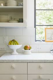 remodeling 101 white tile pattern glossary remodelista kitchen remodel by barbara bestor