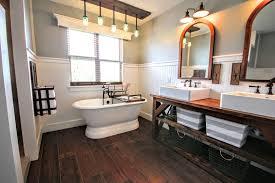 Modern Farmhouse Bathroom Modern Farmhouse Master Bathroom Renovation Iron Space Designs