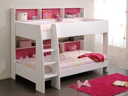 Bunk Beds With Free Delivery Anywhere In Ireland - White bunk bed with mattress