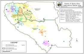 san jose district map redistricting registrar of voters county of santa clara