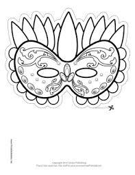 photos mardi gras templates print mardi gras mask