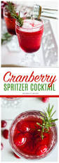 recipe cranberry spritzer cocktail beauty health