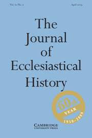 Council Of Ephesus 431 Articles From Journals The Journal Of Ecclesiastical History Volume 60 Issue 2