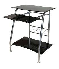 Tesco Computer Desks Computer Desk In Black Glass Furniture Tesco Europa With Side