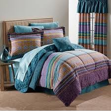 Teal And Purple Comforter Sets Monica Comforter Set