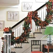 Christmas Banister Garland Ideas 41 Best Christmas Staircases Images On Pinterest Stairs