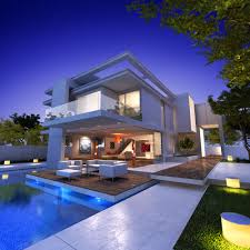private preview modern house with pool shutterstock idolza