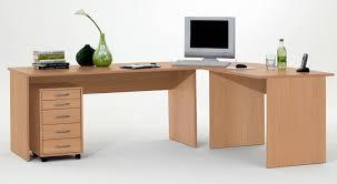 Schreibtisch Rollcontainer Winkelschreibtisch Till Mit Rollcontainer In Buche
