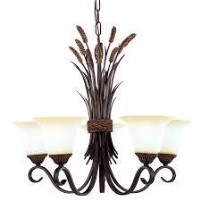 5 light bronze chandelier shop portfolio 5 light bronze chandelier at lowes com decorating