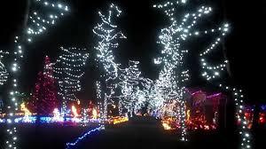 Oglebay Christmas Lights by Christmas Lights On The Hill Hamilton Ohio 11 30 12 Youtube