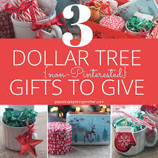 3 dollar tree non pinterested gifts to give passionate penny