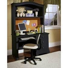Black Writing Desk With Hutch Computer Desk With Hutch Black Cottage Computer Desk With