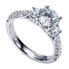 top engagement rings three engagement rings bentley diamond wall new jersey