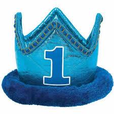 1st birthday boy 1st birthday novelty crown boy walmart