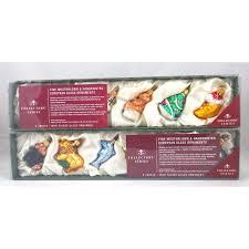 trade fine handblown handpainted european glass christmas ornaments