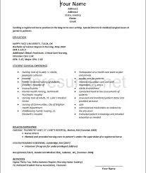 gallery of resume lpn er nurse sample canada throughout licensed